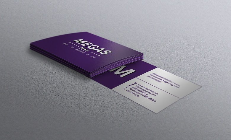 Business Card design MEGAS MAG